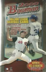 2000 Bowman Baseball Hobby Box