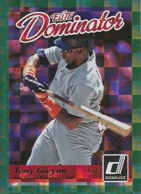 2014 Donruss Dominators Tony Gwynn Insert Card #/999