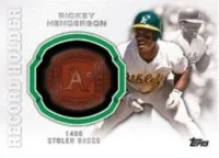 2013 Topps Update Rickey Henderson Ring
