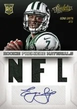 2013 Absolute Geno Smith Auto Rookie