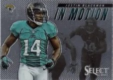 2013 Panini Select Justin Blackmon In Motion