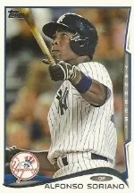 2014 Topps Series 1 Alfonso Soriano #276