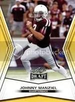 2014 Leaf Draft Picks Johnny Manziel