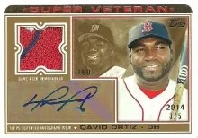 2014 Topps David Ortiz Super Veteran