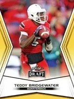2014 Leaf Draft Picks Teddy Bridgewater
