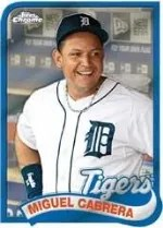 2014 Topps Chrome Miguel Cabrera