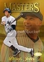 2013 Topps Finest Derek Jeter Masters