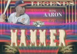 2013 Triple Threads Hank Aaron
