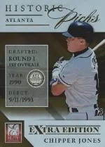 2013 Panini Elite Historic Picks Chipper Jones