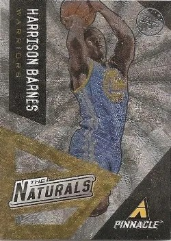 13/14 Pinnacle Harrison Barnes The Natural Insert