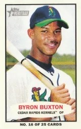 2013 Heritage Minor League Byron Buxton Bazooka