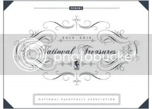 13/14 Panini National Treasures Basketball Box