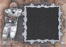 2014 Topps Inception Football Jumbo Relic Card