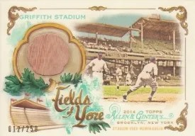2014 Topps Allen & Ginter Fields of Yore Relic Griffith Stadium