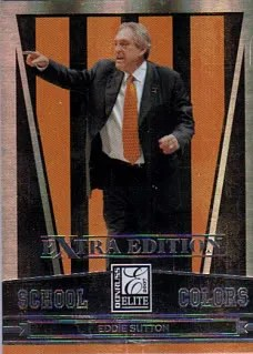 2007 Donruss Elite School Colors Eddie Sutton