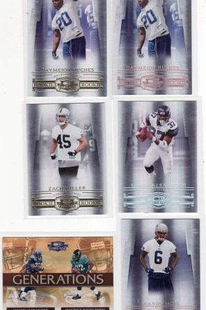 2007 Donruss Threads Box Hits 2