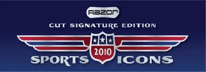 2010 Razor Sports Icons Cut Auto Box