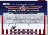 2010 Razor Sports Icons Michael Jordan Cut Autograph