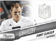 Jimmy Clausen 2010 Panini Prestige Football