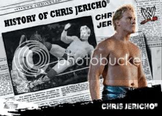 2010 Topps WWE History Of Chris Jericho