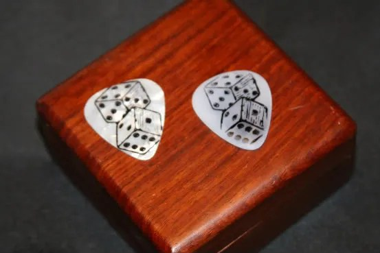 StazOn stamp printed pick punch guitar picks,pick punch,stazon,printeprinted,printed