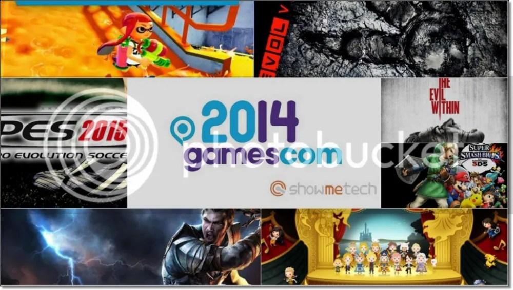 Gamescom 2014 Showmetech