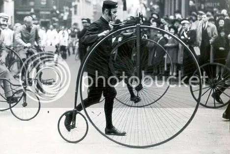 mengingatkan kita pada gaya sepeda masa lampau