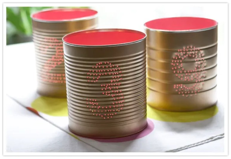 Dolci alzatina creativo : Riciclare i barattoli di latta: 10 idee creative ecogreenmania