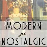 modern yet nostalgic