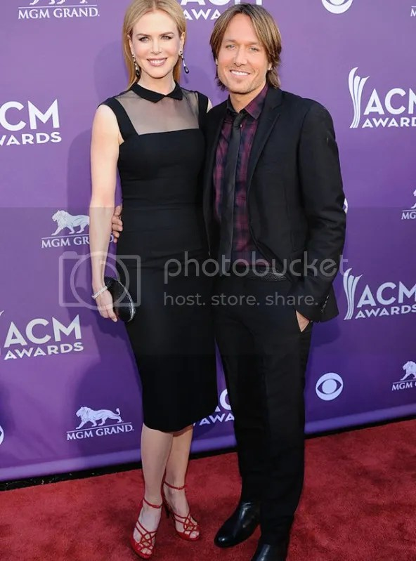 ACM KeithUrban NicoleKidman {Celebs} What They Wore to 2012 Academy of Country Music Awards