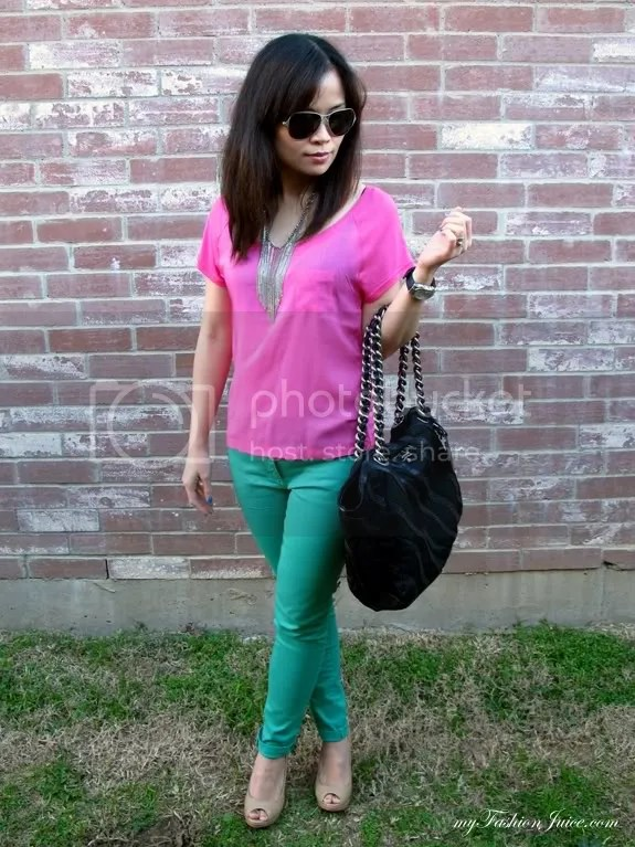 Bday Colorblocking Outfit2 {Weekly Wear} Bday Outfit + Bday Gift Reveal