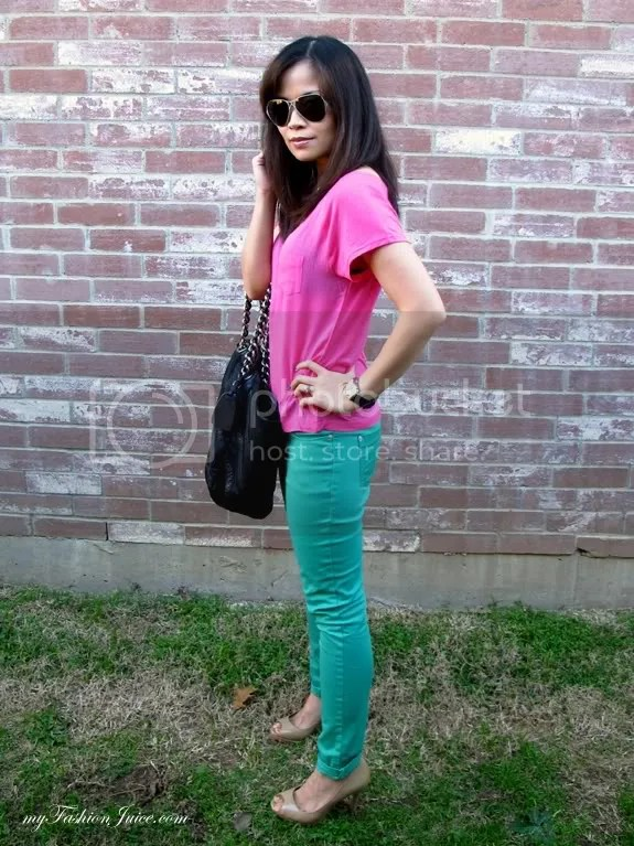 Bday Colorblocking Outfit5 {Weekly Wear} Bday Outfit + Bday Gift Reveal