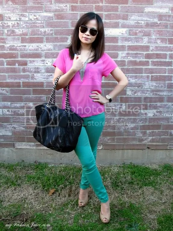 Bday Colorblocking Outfit6 {Weekly Wear} Bday Outfit + Bday Gift Reveal