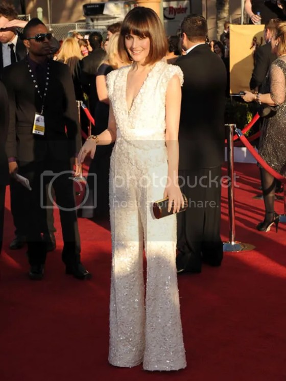 Rose Byrne SAG Awards 2012 {Celebs} at the SAG Awards Sparkle in Tiffany Jewelry