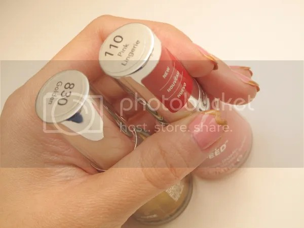 Mani HeartTips Nailart2 zps26fbc142 {Nail It} I Bask in Golden Heart Tips and Pink Lingerie