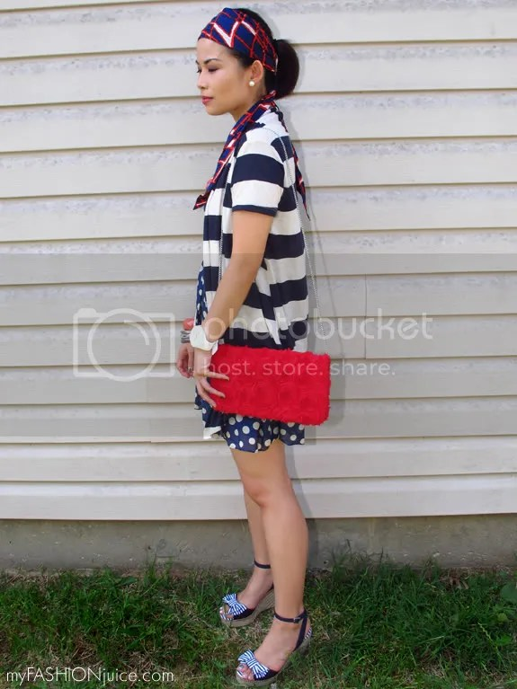 RedWhiteBlueOutfit4 {Weekly Wear} Fourth of July Outfit: Red, White and Blue