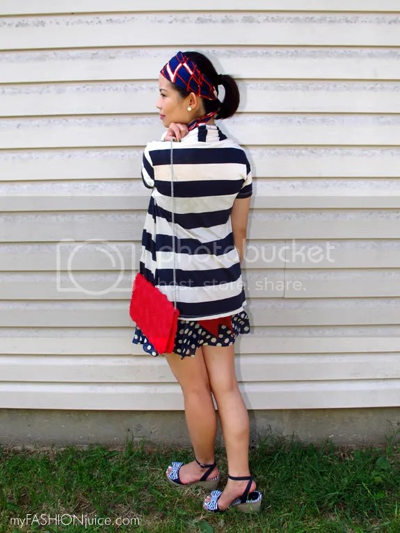 RedWhiteBlueOutfit6 {Weekly Wear} Fourth of July Outfit: Red, White and Blue