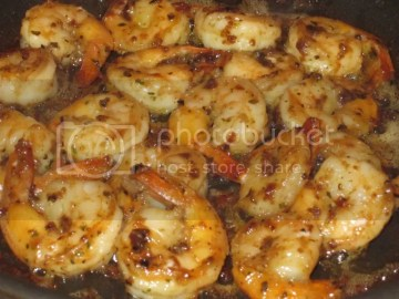 Cooked Scampi