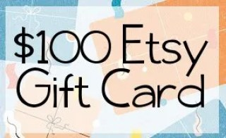 Win a $100 Etsy Gift Card