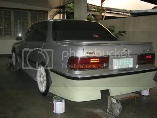 Rhett del Rosario's Cressida GX81 Project Drift Car by Toycool Garage (Part 2) 5