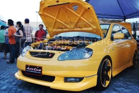 2002 Atomik Toyota Corolla Altis by FM Garage, SEATMATE, and JC Car Audio Exterior