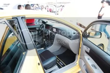 2002 Atomik Toyota Corolla Altis by FM Garage, SEATMATE, and JC Car Audio Side
