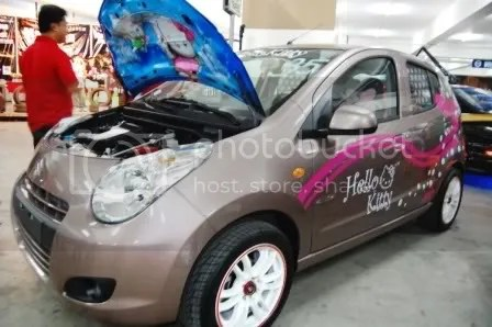 Hello Kitty Suzuki Celerio