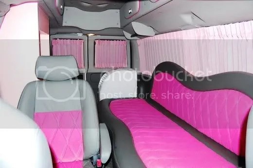 Kim Chiu's Ford E150 customized by A-Toy Body Kits pic3