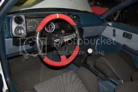 Patrick Mendoza AE86 Interior