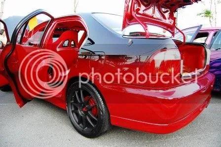 CustomPinoyRides Philip Laude Honda Civic VTi by Warp Zone New Age Customs Rear