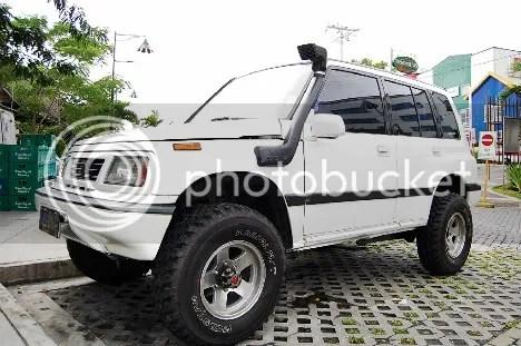 Vitoy's Suzuki Vitara Driver's Side