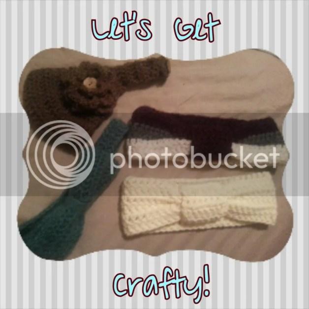Crochet Headband Easy DIY Project Flower Bow