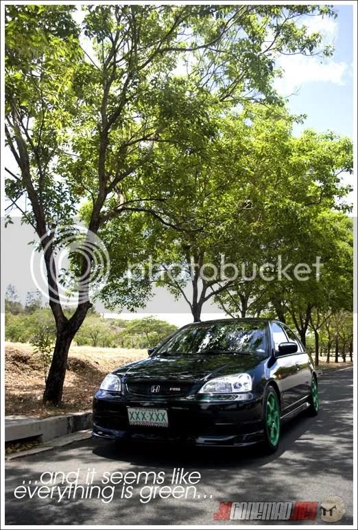 jdGONEMAD.net - Honda Civic 2001 Emerald Green