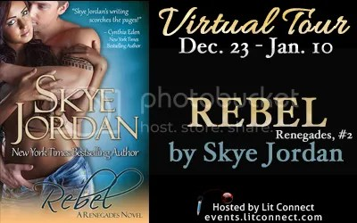 Tour Badge-Rebel by Skye Jordan